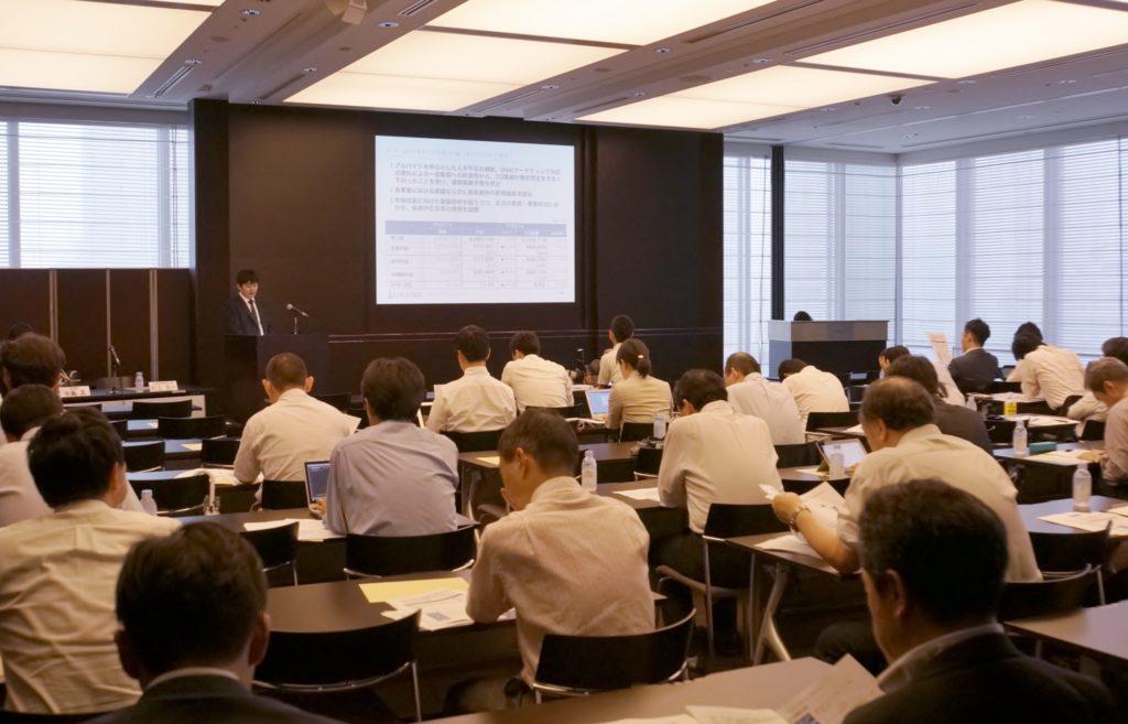 2014年8月14日(木)開催 決算説明会の様子
