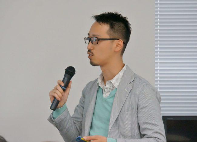 リブセンスの事例を講演する岩崎