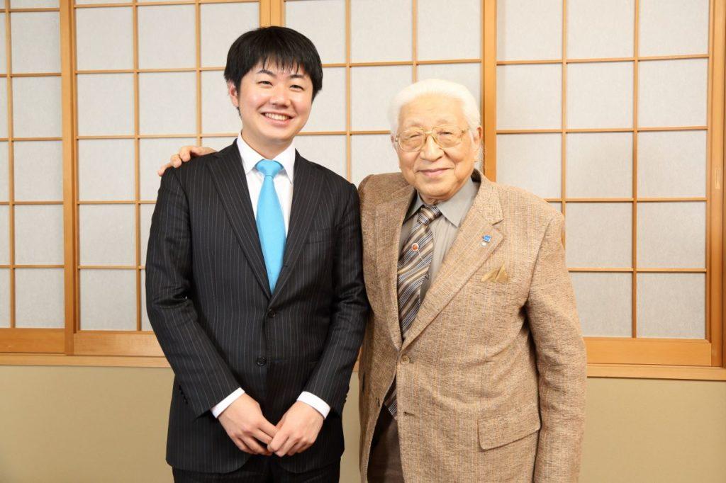 堀場氏と村上(写真/カメラマン大亀京助氏)