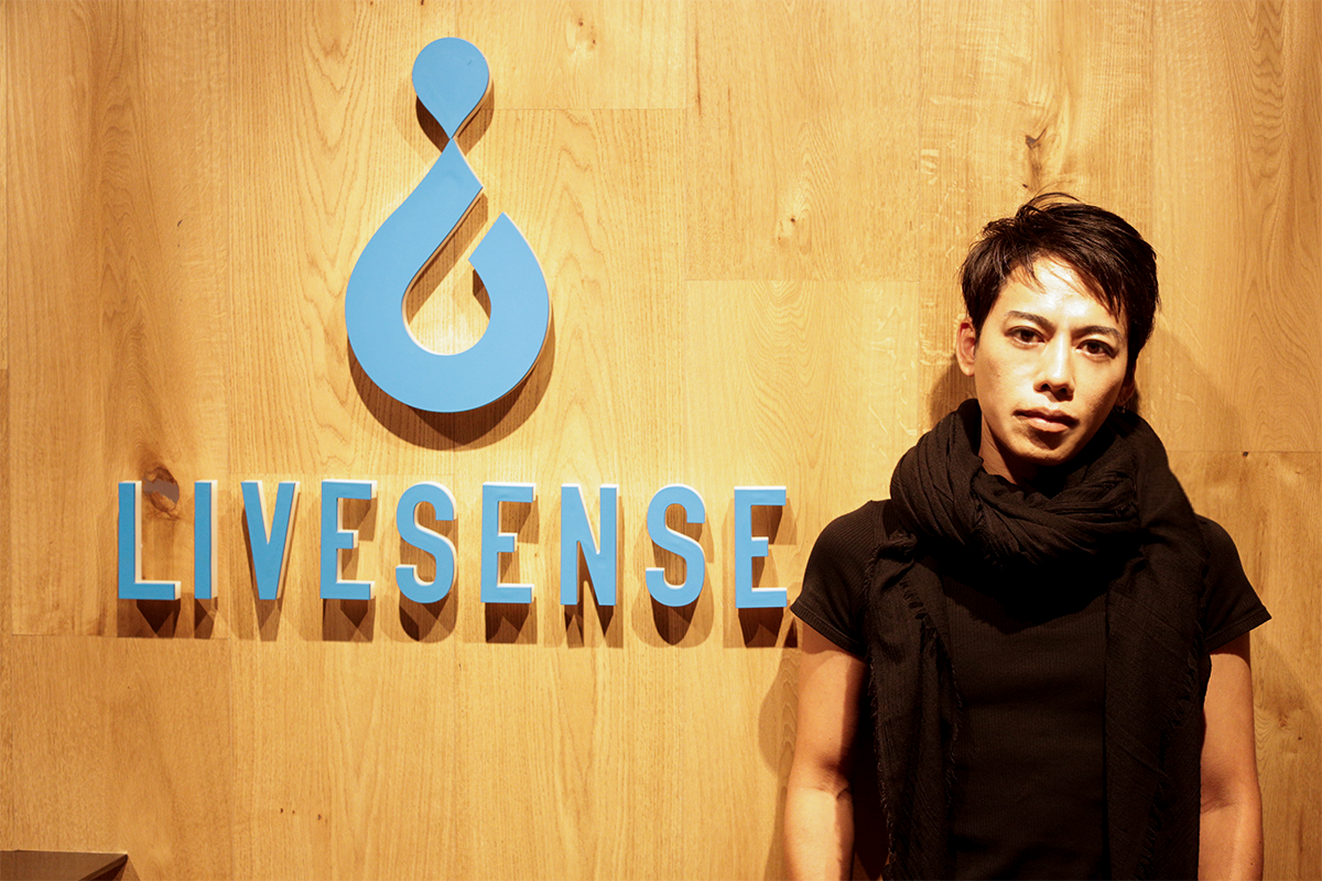 LIVESENSE CREATIVE LEADERの高木さん